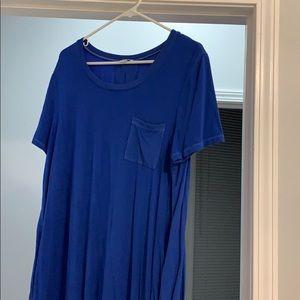 NWOT Splendid T Shirt Dress XL